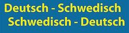 Wörterbuch Deutsch - Schwedisch